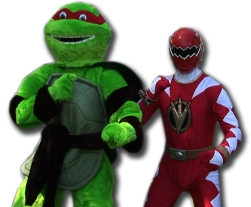 Raphael and The Red Ranger